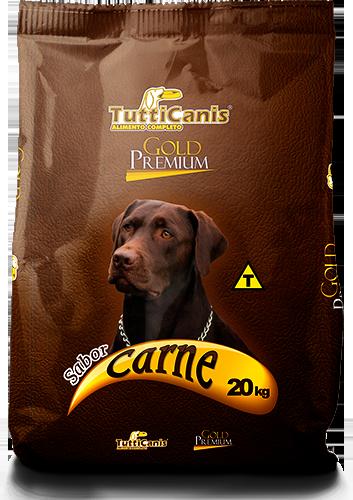 Racao - Tutticanis Gold Premium- Proteica Alimentos